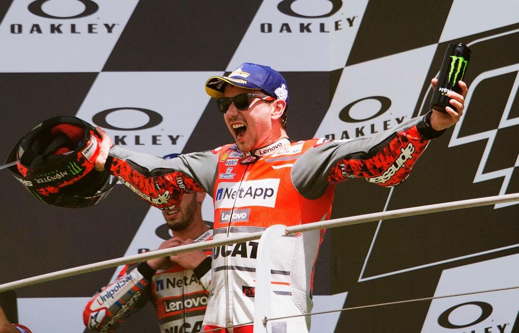 Пилотът на Ducati Хорхе Лоренсо е сключил двугодишна сделка с