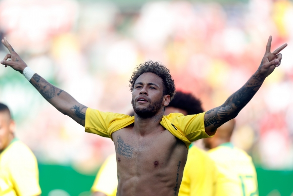 Neimar equalized with Romario for Brazil – World Cup 2018 – TECH2 5a73b0bd1690b