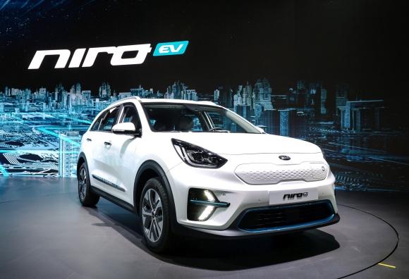Kia представи новия Niro EV на изложението в корейския град