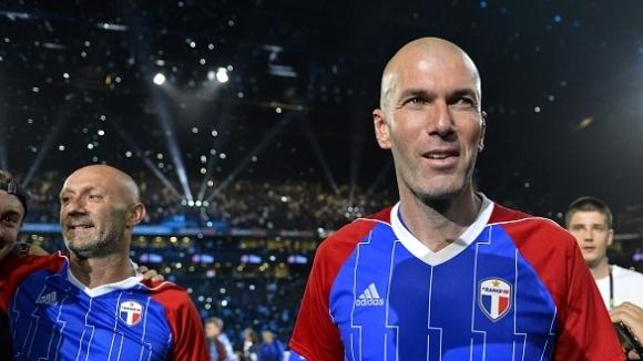 Най-добрият футболист на Европа за 1994 година Христо Стоичков беше