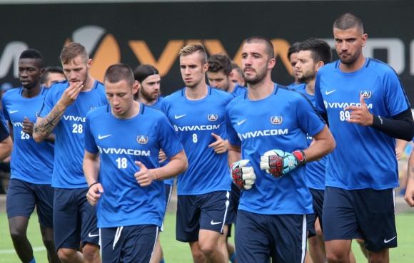 Левски започна днес лятна подготовка с група от 26 футболисти