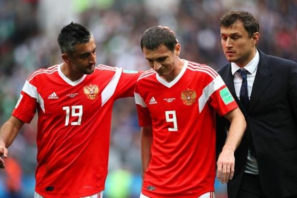 Халфът на руския национален отбор Алан Дзагоев едва ли ще