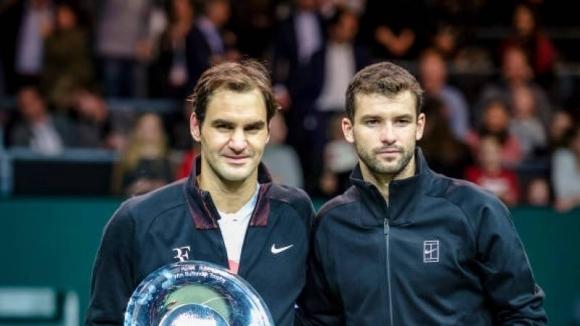 """Носителят на 20 титли от """"Големия шлем"""" Роджър Федерер не"""