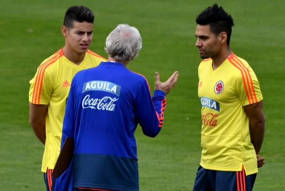 Звездата на националния отбор на Колумбия Хамес Родригес поднови тренировки
