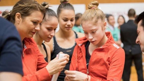 Вторият подготвителен лагер на българския национален отбор по художествена гимнастика