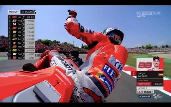 Пилотът на Ducati Хорхе Лоренсо, който миналата седмица обяви официално,
