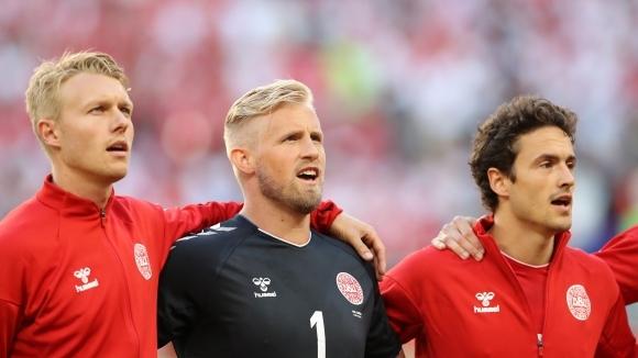 Вратарят на Дания Каспер Шмайхел подобри рекорд на баща си-