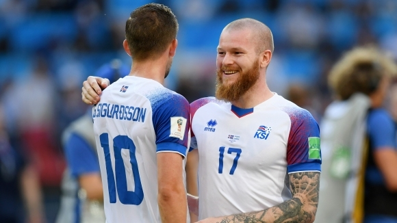 Играчите на Исландия вече водят усърдна подготовка за двубоя с