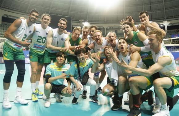Волейболистите на Австралия вече съвсем не са аутсайдери в света,