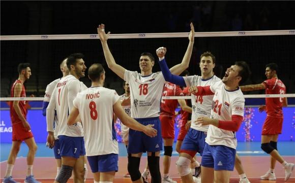 Волейболистите от националния отбор на Сърбия постигнаха 7-и успех в