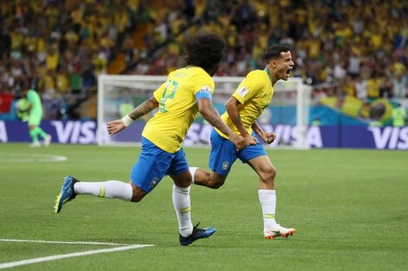 Полузащитникът на Бразилия Филипе Коутиньо беше избран за играч на