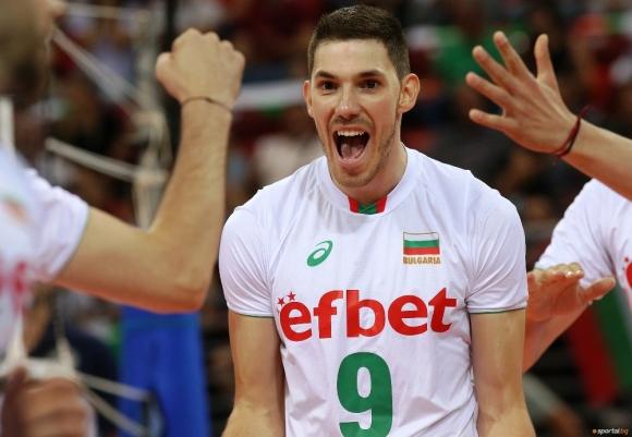 Разпределителят на националния ни отбор по волейбол Георги Сеганов не