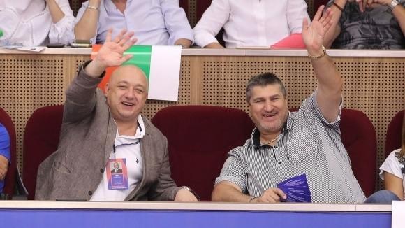 Министърът на младежта и спорта Красен Кралев поздрави волейболистите от