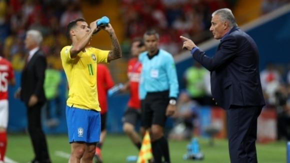 Селекционерът на Бразилия Тите логично остана недоволен от равенството 1:1