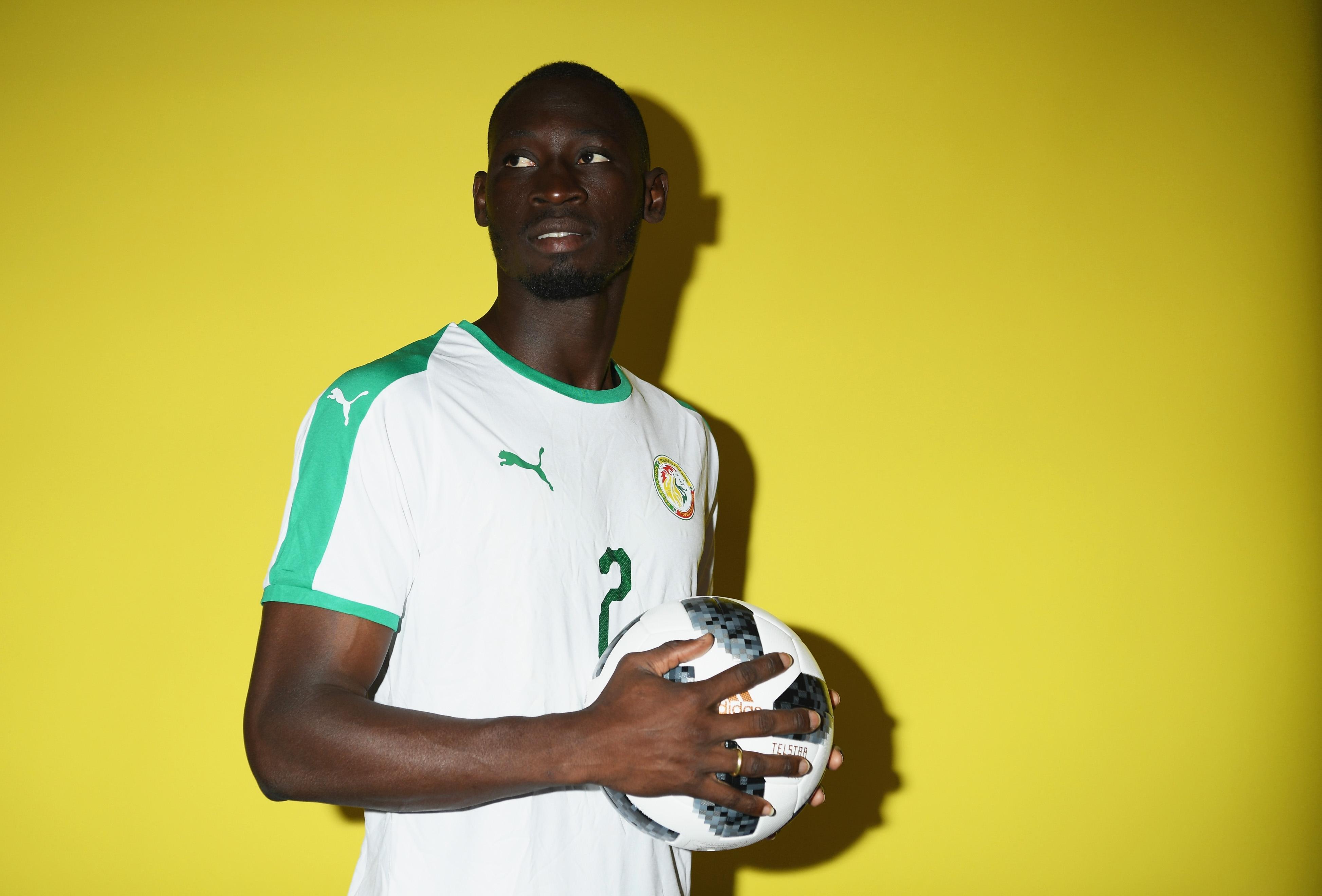 Левият защитник Салиу Сис отпадна от състава на Сенегал за