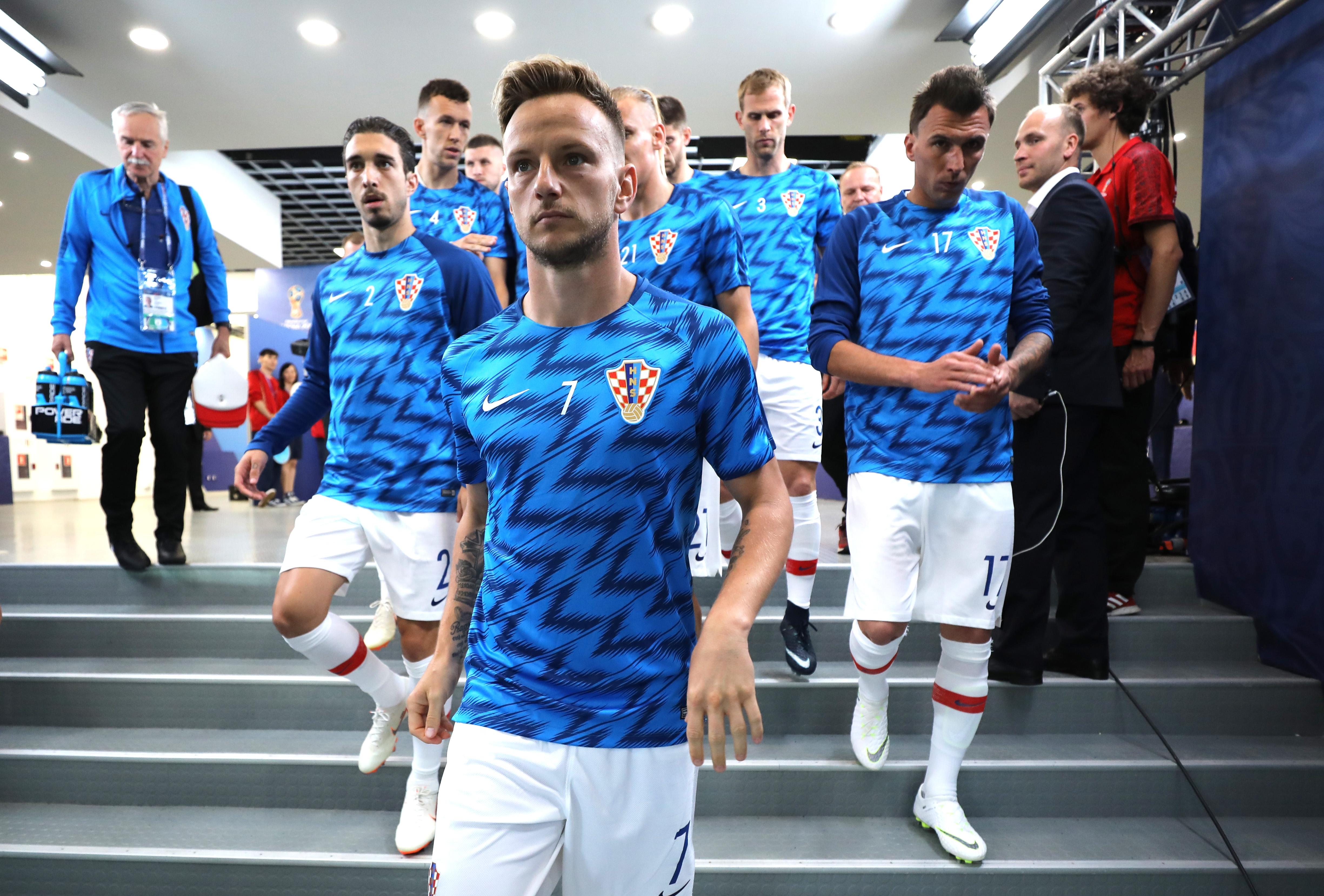 Хърватските национали Андрей Крамарич, Никола Калинич и Шиме Върсалко пропуснаха