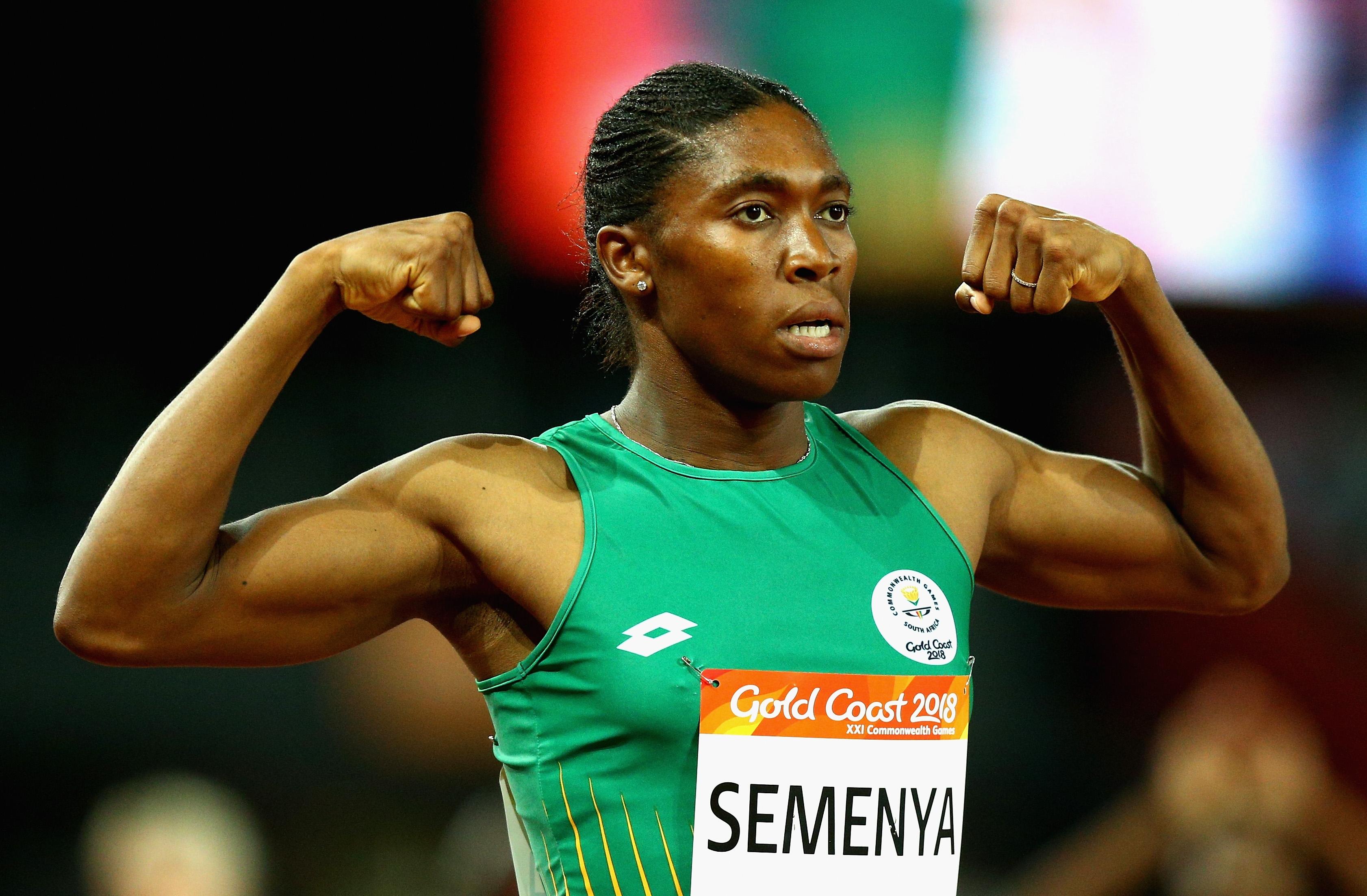 Двукратната олимпийска и трикратна световна шампионка на 800 метра Кастер