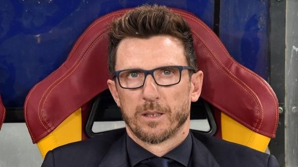 Старши треньорът на Рома Еузебио Ди Франческо поднови договора си