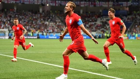 Англия започва участието си на Световното първенство в Русия с