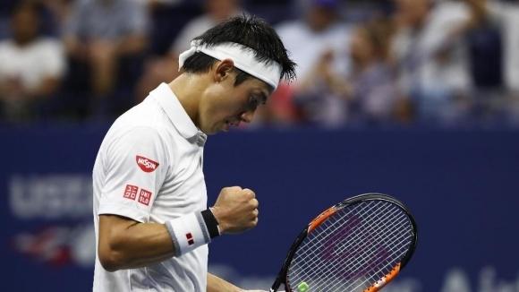 Японецът Кей Нишикори започна с лесна побед с 6:3, 7:6(3)