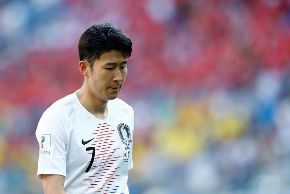 Нападателят Хеунг-Мин Сон пое вината за загубата на Южна Корея