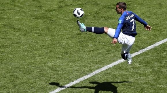 Нападателят на националния отбор на Франция Антоан Гризман е напуснал
