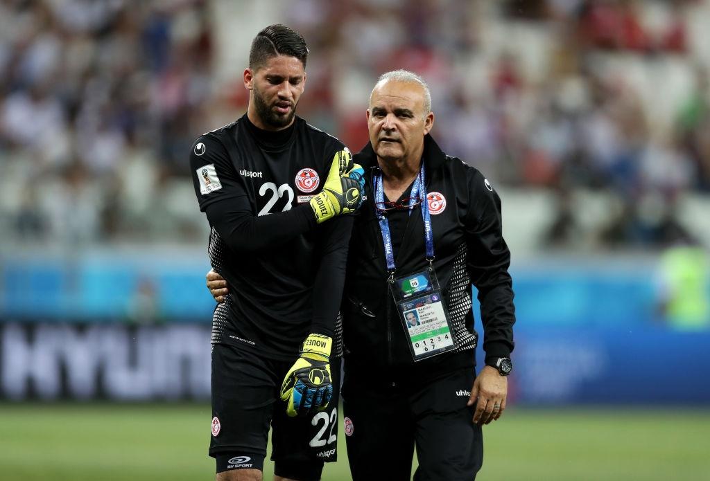 Титулярният вратар на Тунис Муе Асен приключи участието си на