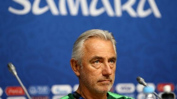 Селекционерът на австралийския национален отбор Берт ван Марвайк призна, че