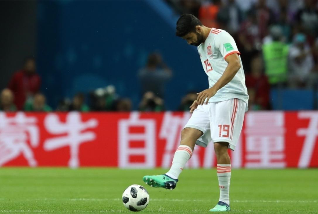 Нападателят на Испания Диего Коща беше определен за играч на