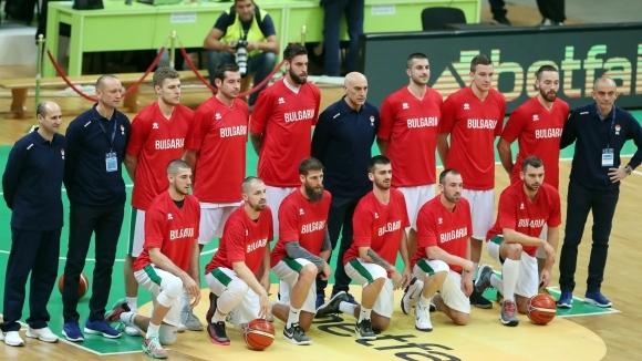 Баскетболистите на България ще изиграят първата си лятна контрола днес.