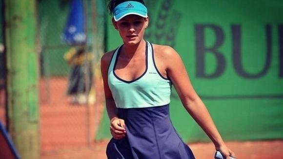 Юлия Стаматова се класира за четвъртфиналите на турнира по тенис