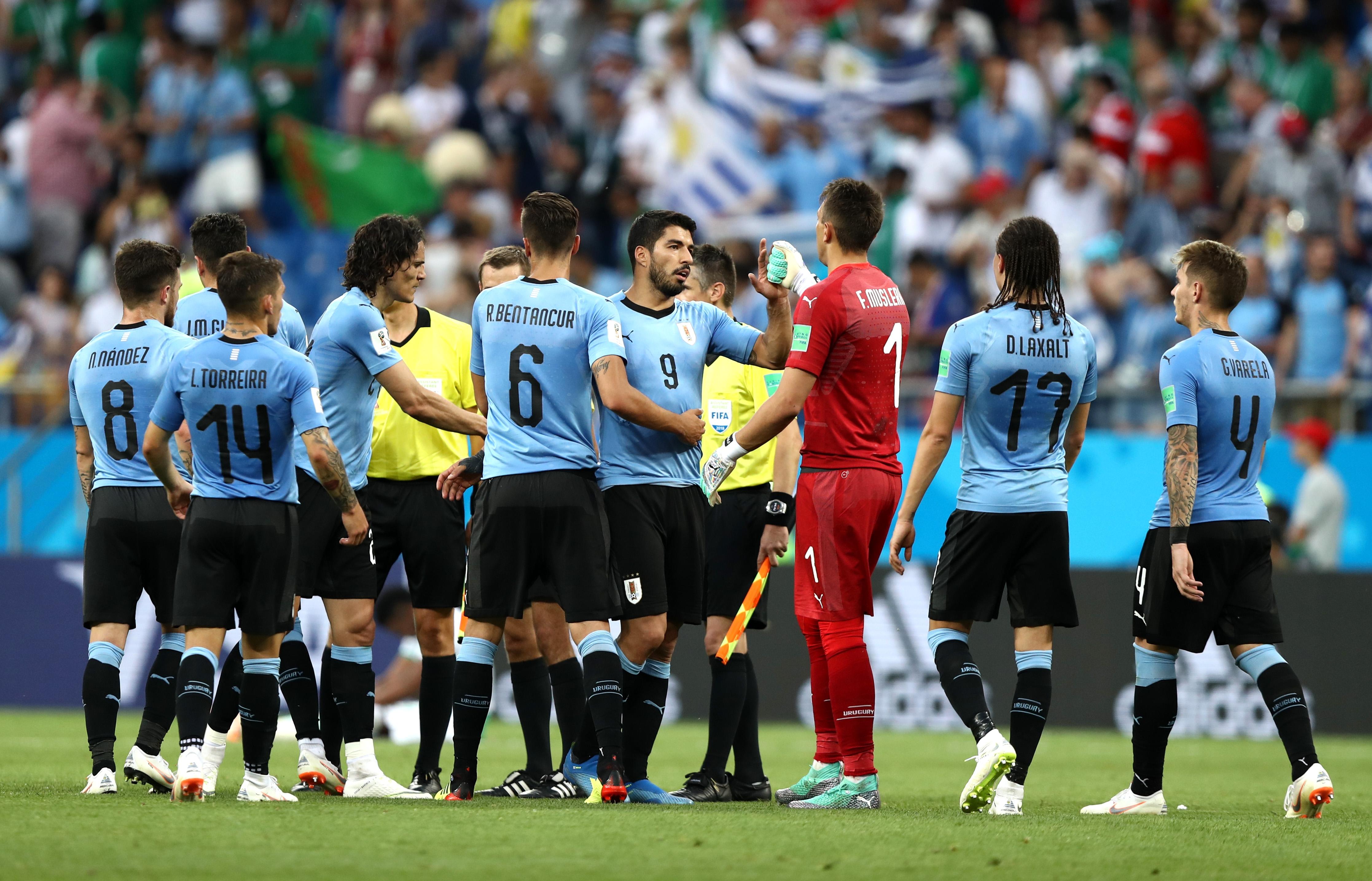 В уругвайския национален отбор не се притесняват от предстоящия мач