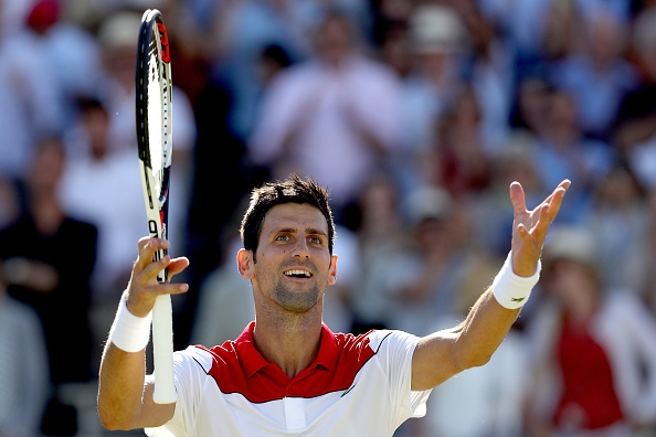 Бившият номер 1 в света Новак Джокович (Сърбия) постигна победа
