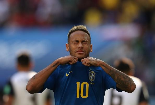 Неймар е изключително щастлив от гола си срещу Коста Рика,