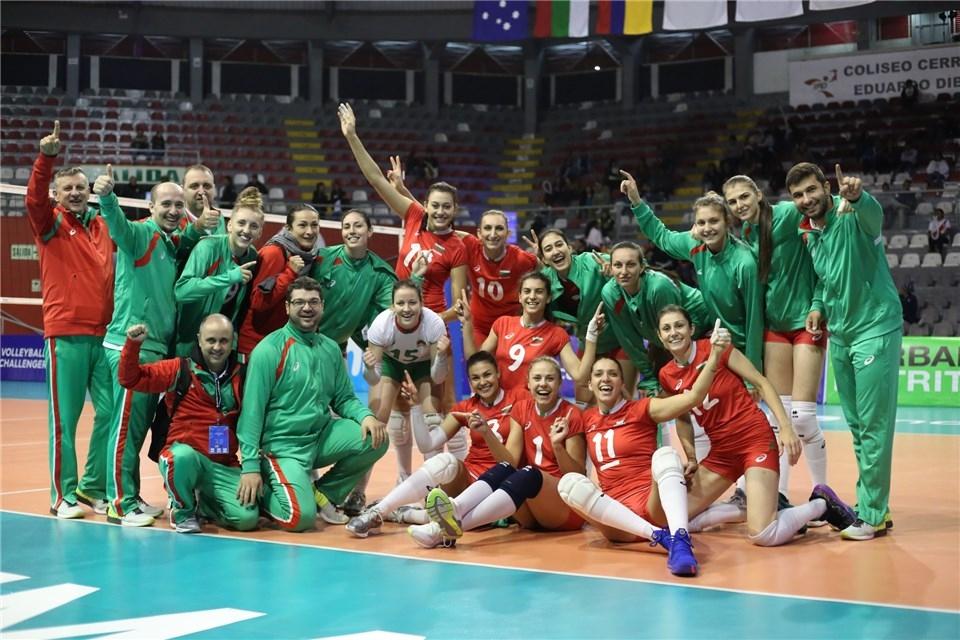 Волейболистките от националния отбор на България спечелиха без проблеми и