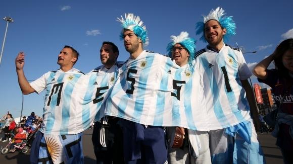 Аржентинската делегация забрани на привърженика Клаудио Фитерер да посещава мачове