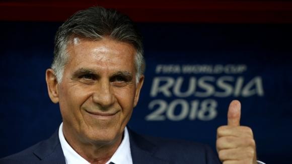 Селекционерът на иранския национален отбор Карлос Кейрош се надява на