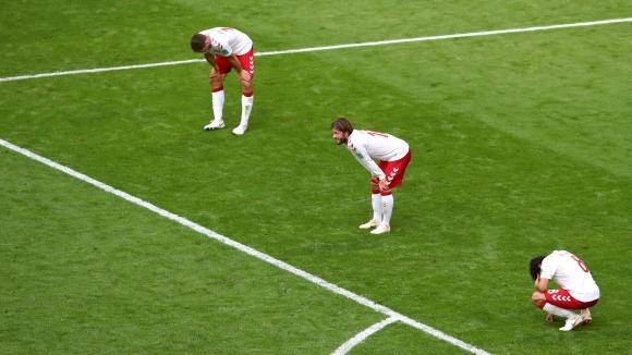 Футболистите на Дания направиха лека тренировка на плажа в черноморския