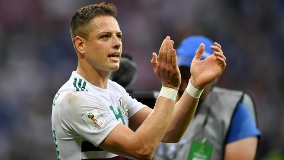 Нападателят на Мексико Хавиер Ернандес-Чичарито бе избран за играч на