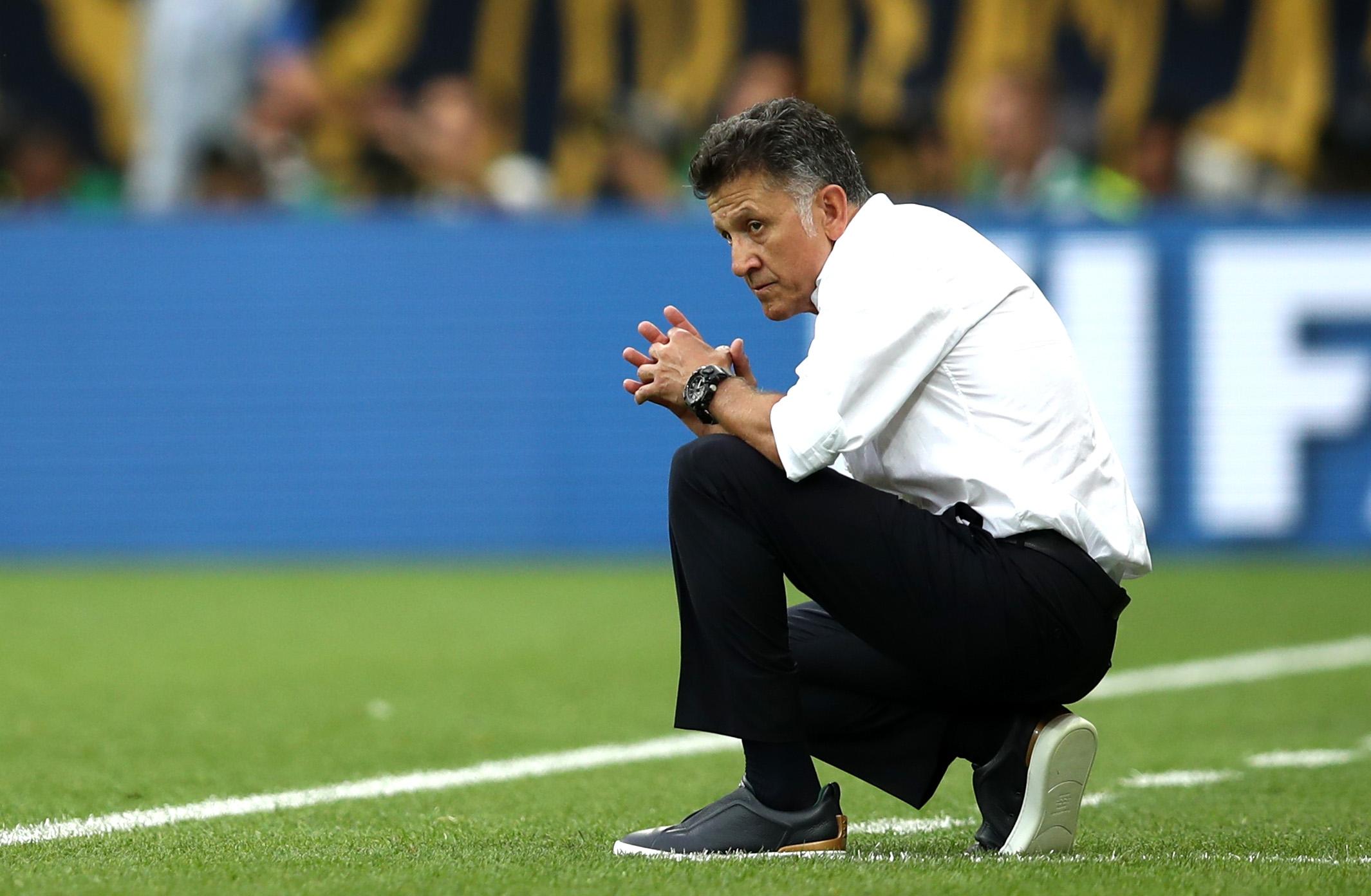 Старши треньорът на Мексико Хуан Карлос Осорио остана доволен от