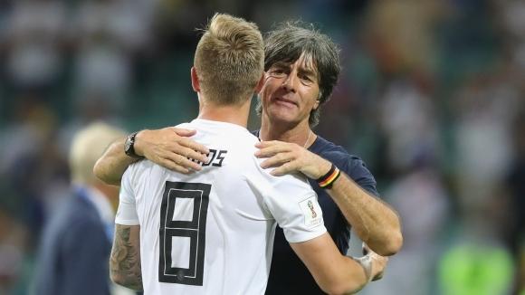Световният шампион Германия опази кожата си на Мондиал 2018 с