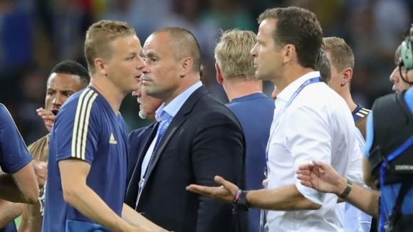 Германският футболен съюз поднесе извиненията си на националния отбор на