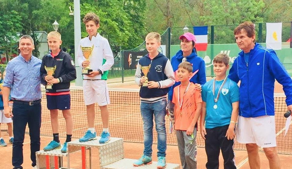 Три титли за България в четвъртото издание на тенис турнира
