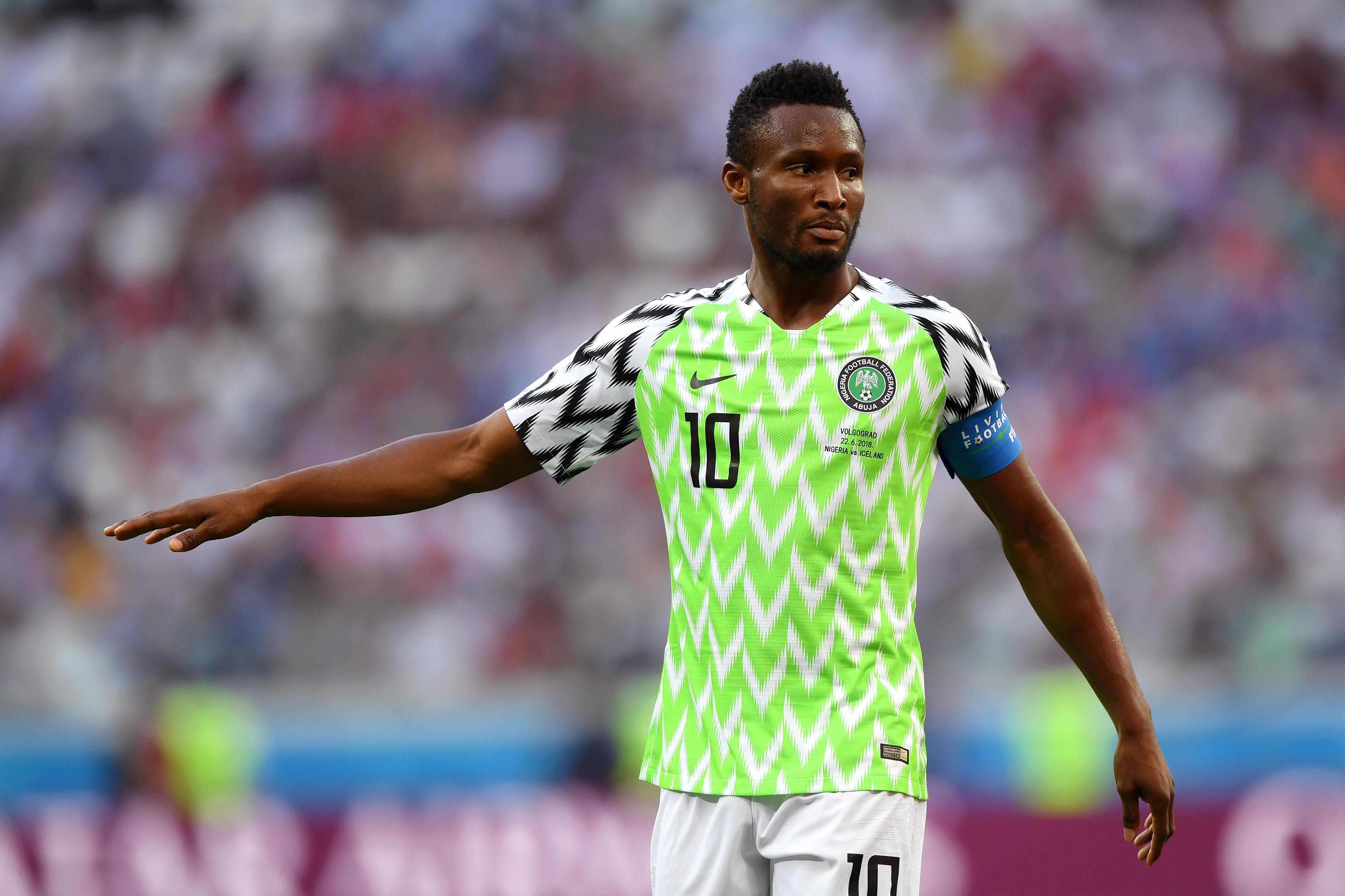 Капитанът на нигерийския национален отбор Джон Оби Микел трябва да