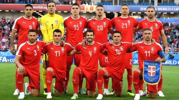 Отборът наСърбия не е развяла бялото знаме и все още