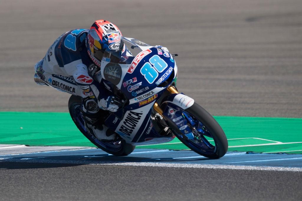 Хорхе Мартин с Honda поведе в генералното класиране на клас