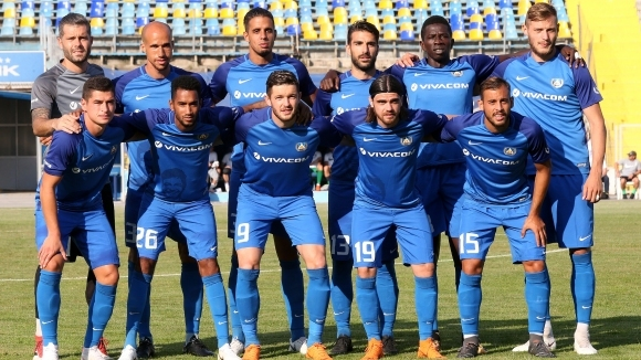 Отборът на Левски представя отбора си за новия сезон в