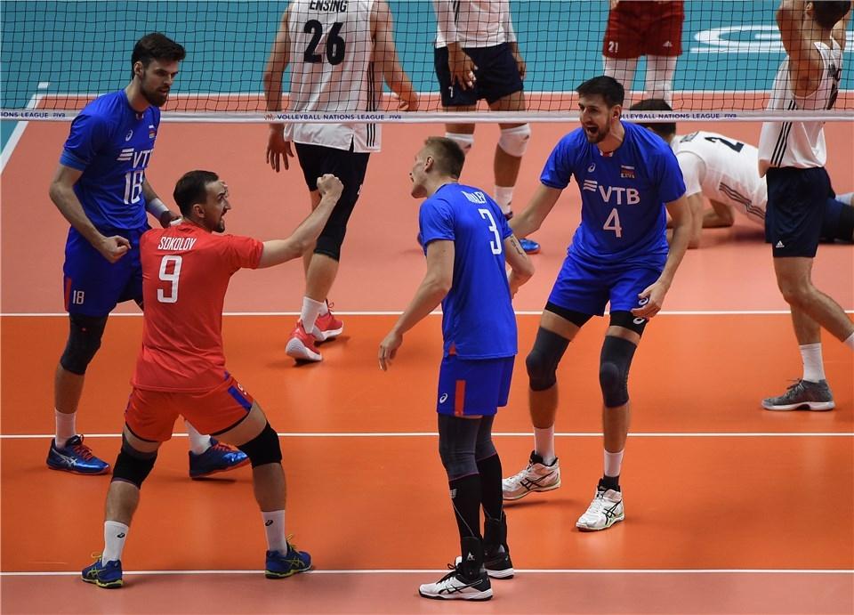 Европейският шампион Русия записа втора победа на финалния турнир в