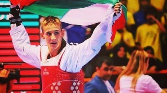 Младата надежда на българското олимпийско таекуондо Алексанър Джорджев се изкачи