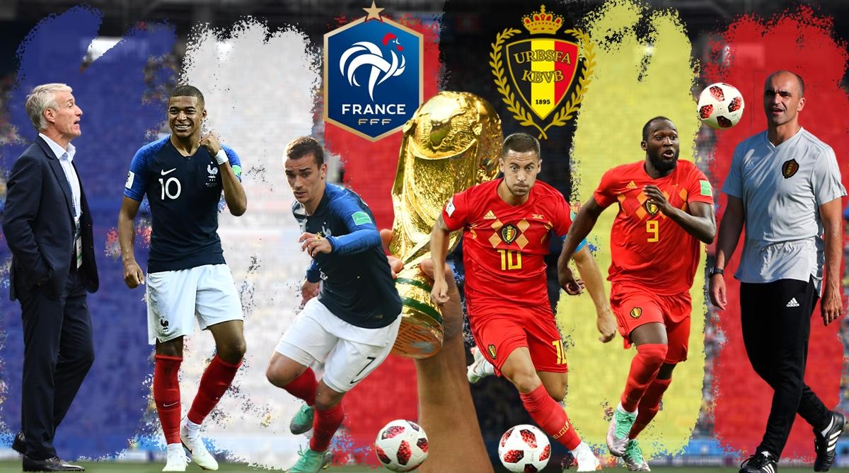 Франция и Белгия ще излъчат първия финалист на Мондиал 2018